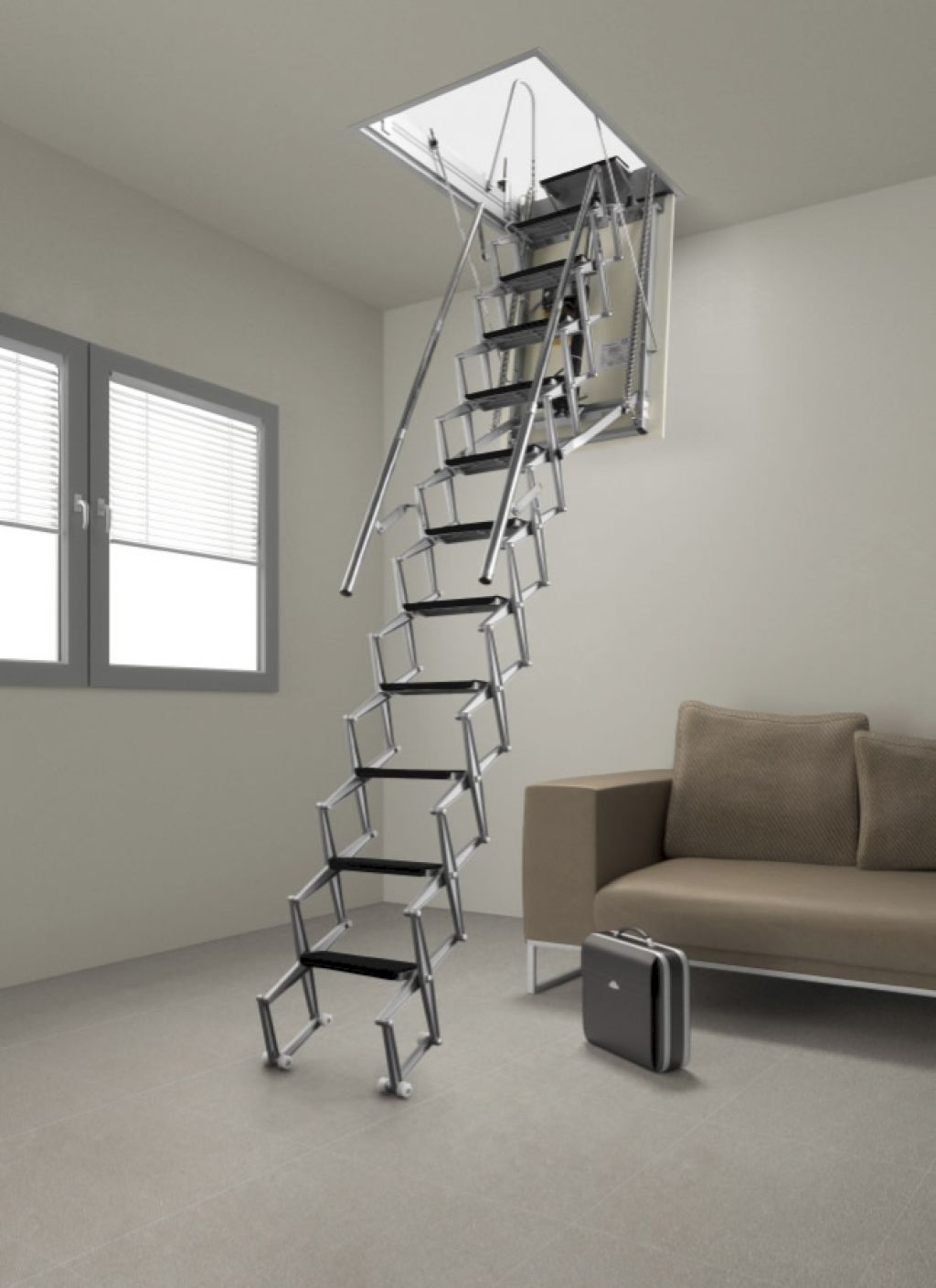 Auto Electric Noel Curran Attic Stairs The Largest Range