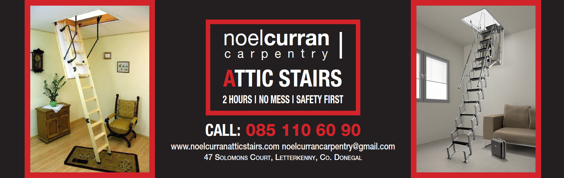 Noel Curran Attic Stairs The Largest Range Of Attic Stairs
